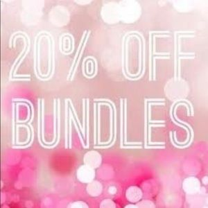 Other - 20% off all 2 or more item bundles!